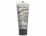 10ml tube of Body & Face Paint : Neon Silver