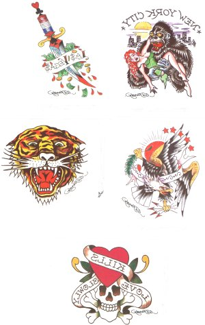 Ed Hardy tattoo & collector card gift pack  (56)