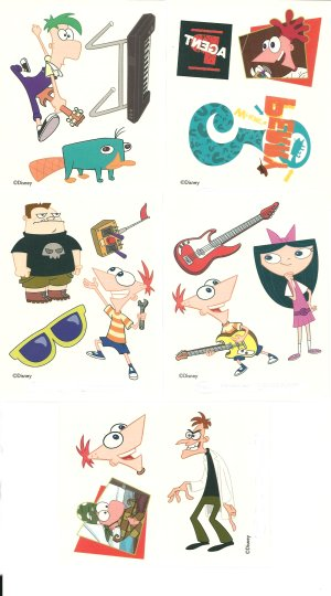Disney Phineas and Ferb Collection 2: Small Gift Pack