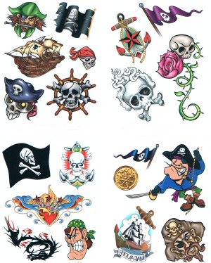 3D gift pack - Pirate assortment