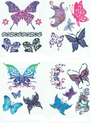 3D gift pack - Glitter Butterfly Collection