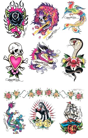 phrases tattoos for girls ed hardy tattoos temporary. Black Bedroom Furniture Sets. Home Design Ideas