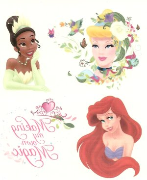 Disney Princess collection sheet 2