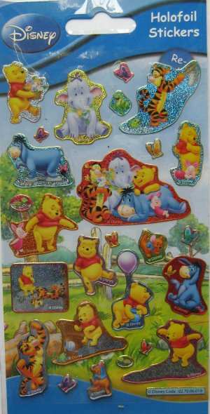Winnie the Pooh and Friends Stickers