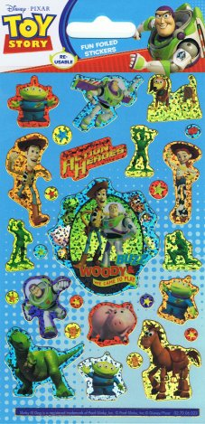 Toy Story Holofoil Stickers