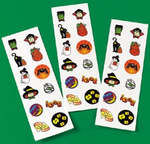 Halloween Temporary tattoo strip
