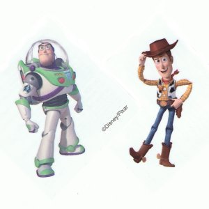 Genuine Disney Pixar Toy Story tattoos