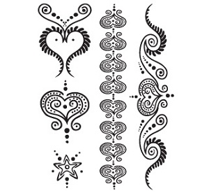 Henna Soft tattoo collection