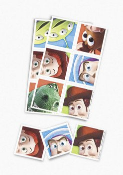 Toy Story 3 Stickers: pack of 6