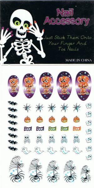 Hallowe'en nail art stickers