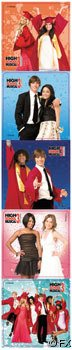 High School Musical 3 Stickers: mega pack of 20