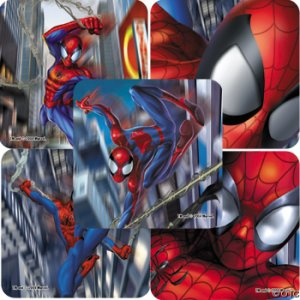Genuine Spiderman Stickers: Bumper Pack of 20