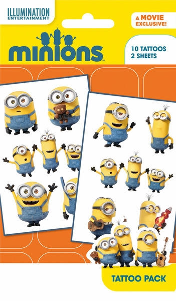 Minions tattoo pack 1