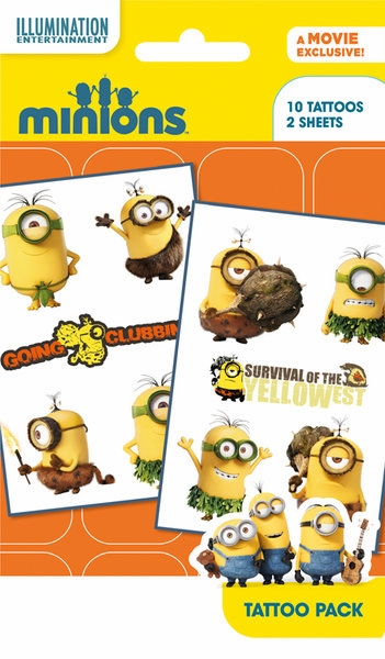 Minions tattoo pack 2