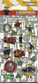 Fireman Sam stickers - 6 sheet Party Pack