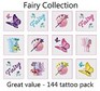 A Fairy Tattoos Collection - mega pack of 144