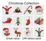 A Christmas Tattoos Collection - mega pack of 144