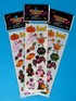 Iridescent Hallowe'en Stickers - 1 sheet