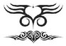 Tribal Celtic design hearts