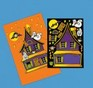 Make-a-Haunted House sticker sheet - 12 pack
