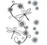 Soft and Delicate Dragonflies tattoo sheet