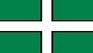 St. Petroc's Flag temporary tattoo - The county flag of Devon