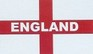 England St Georges Flag Mini tattoo
