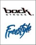 Backstroke and Freestyle swimming tattoos