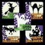Glow-in-the-dark Halloween stickers - 15 stickers