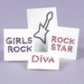Rock Diva Body Jewels - Pack of 4