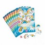 Unicorn Rainbow Stickers - 1 sheet