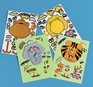 Make-an-Animal sticker sheets - 4 pack