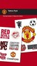 Manchester United Football supporters tattoo pack