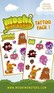 Moshi Monsters - tattoo pack 1