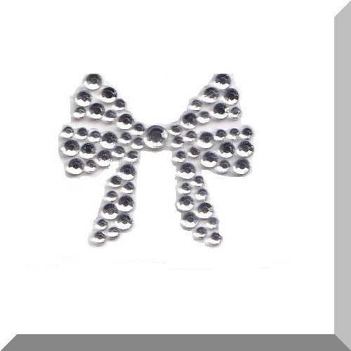 Small Bow crystal body jewel